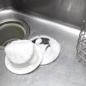 キッチンの排水溝の掃除方法