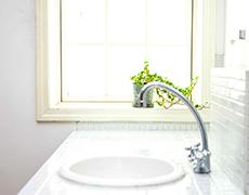 洗い場の水漏れ